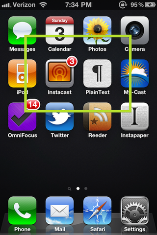 Organize your iphone or android home screen for smarter for Cool way to arrange iphone apps