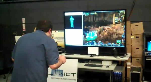 WoW Kinect