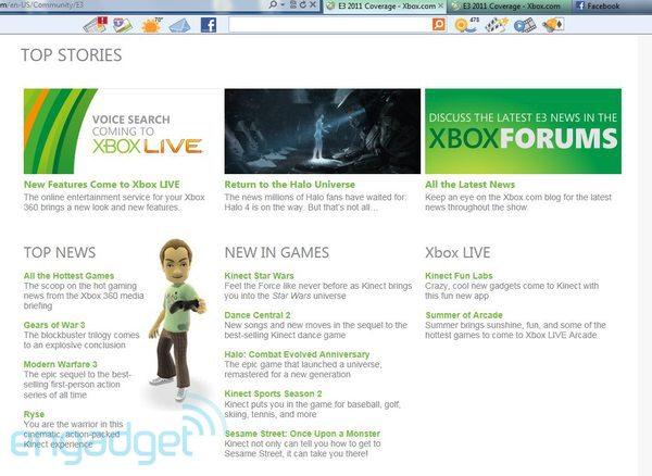 xBox site leak