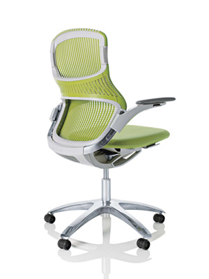 test-driving the latest high-tech office chairs