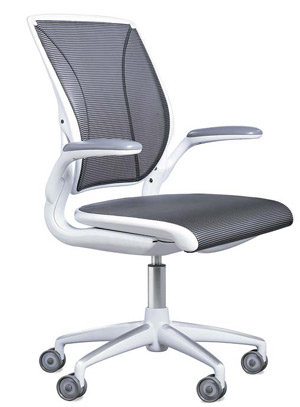 This Budget Chair Designed By Niels Diffrient Adjusts Automatically To All Positions With Just One Main Control For Seat Height