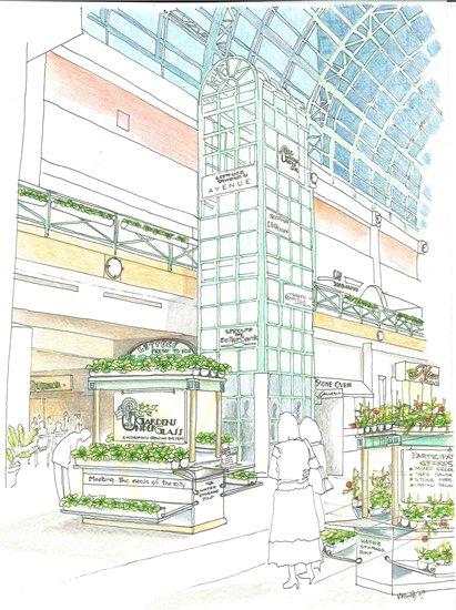 Cleveland Galleria Mall