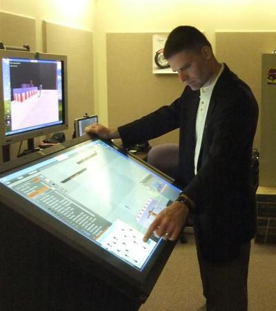 Secret Service touchscreen