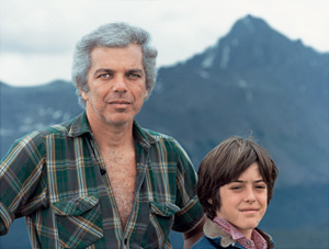 Ralph and David, pictured here in 1982, at the RRL Ranch in Ridgway, Colorado