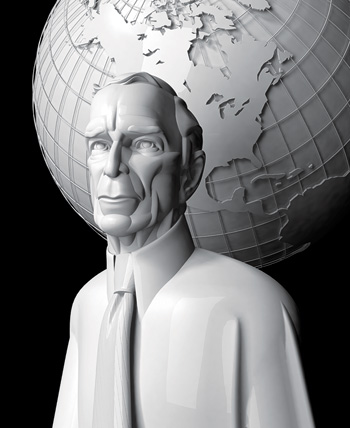 Mayor Michael Bloomberg | Illustration by Guyco