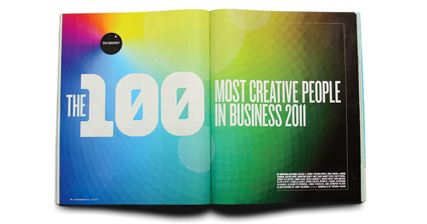 100 Most Creative People in Business 2011