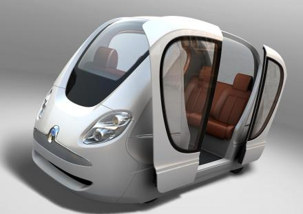 Masdar City Self Driving Cars