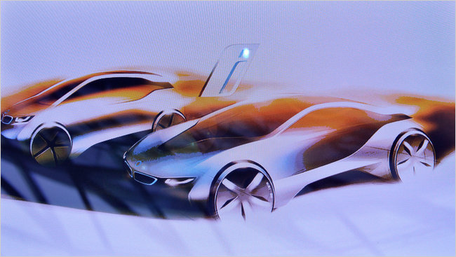 BMW concept EVs