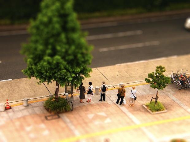 Alzheimer's bus stop