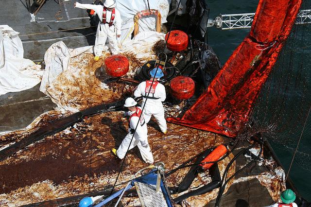 Coast Guard Deepwater oil spill response