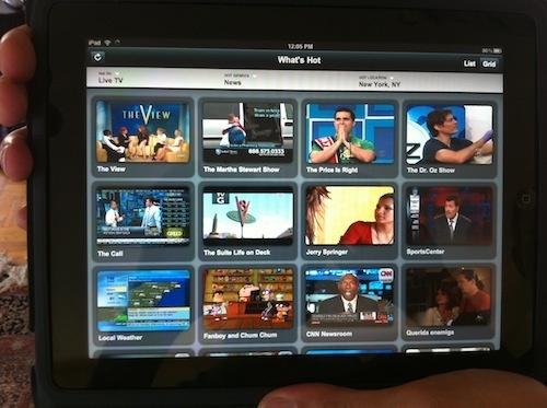 Verizon iPad app