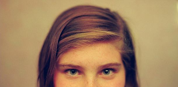 girl's eyes