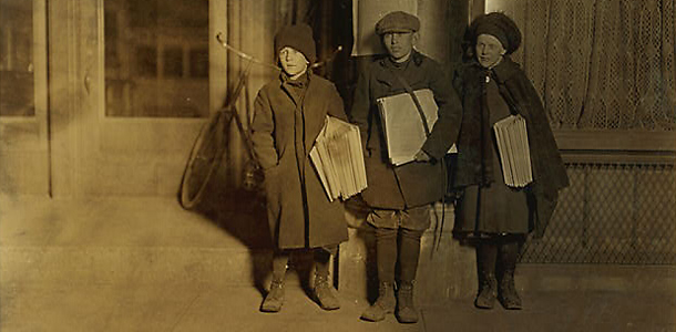1910 newsies