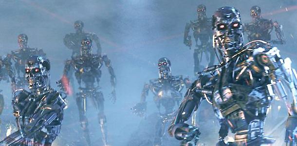 Swarm Robots Come In Peace