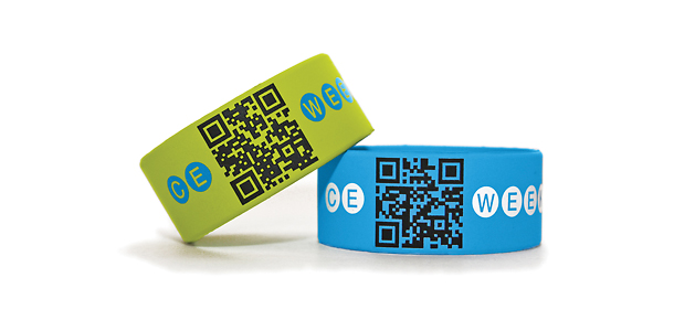 Business card encoded wristbands developer dumps blackberry easy sma skanz skanz are wearable business cardssocial network reheart Image collections
