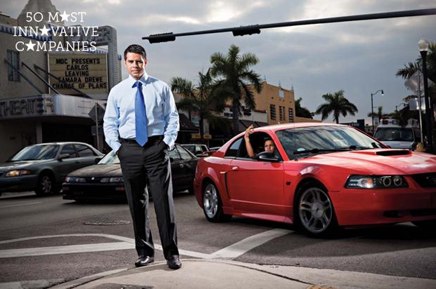 Univision Networks president Cesar Conde in Miami