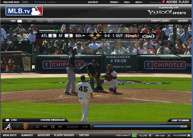 Mlb Live Ticker