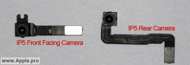 iPhone 5 cameras