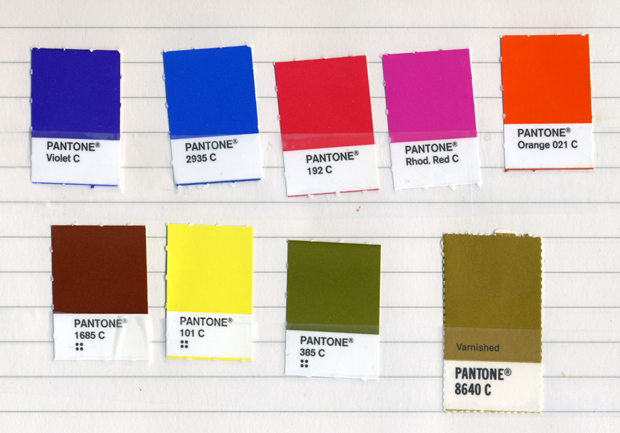 Last Week I Was Working On An Identity Systems Color Palette