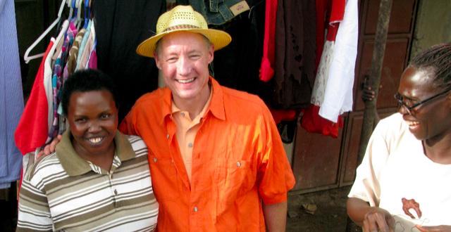 Ron Cordes and friend