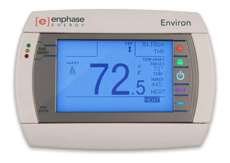 Enphase smart thermostat