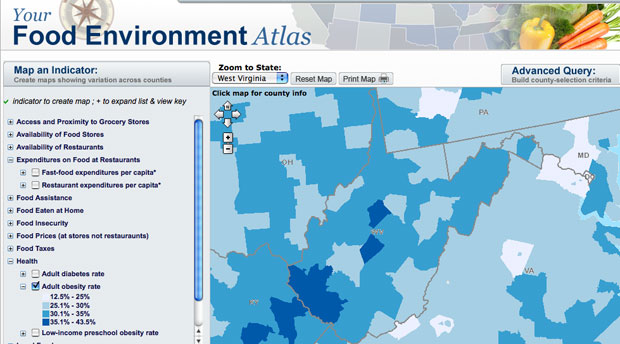 You Are Where You Eat: Government Releases Interactive Map ...
