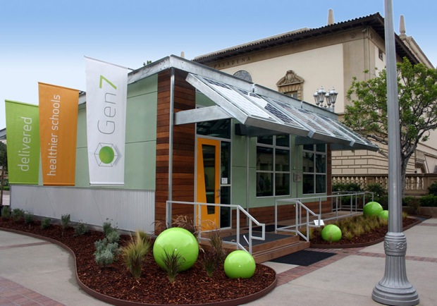 Modular Green Classroom : School s almost out but these modular eco friendly