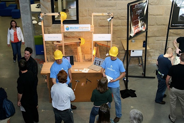 Trade Show Booth Builders : Workerexpress a startup to innovate construction labor