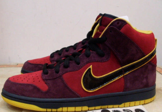 Iron Man Dunks sneakers