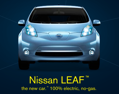 Even Though It Was Unveiled Back In 2009 The Nissan Leaf Is Only Now Earing Commercials And On Billboards Near You Seats 5 S Has A Range