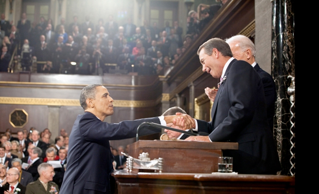 President Obama at State of the Union address