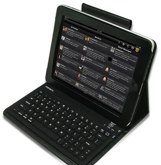 iPad with Toccata keyboard