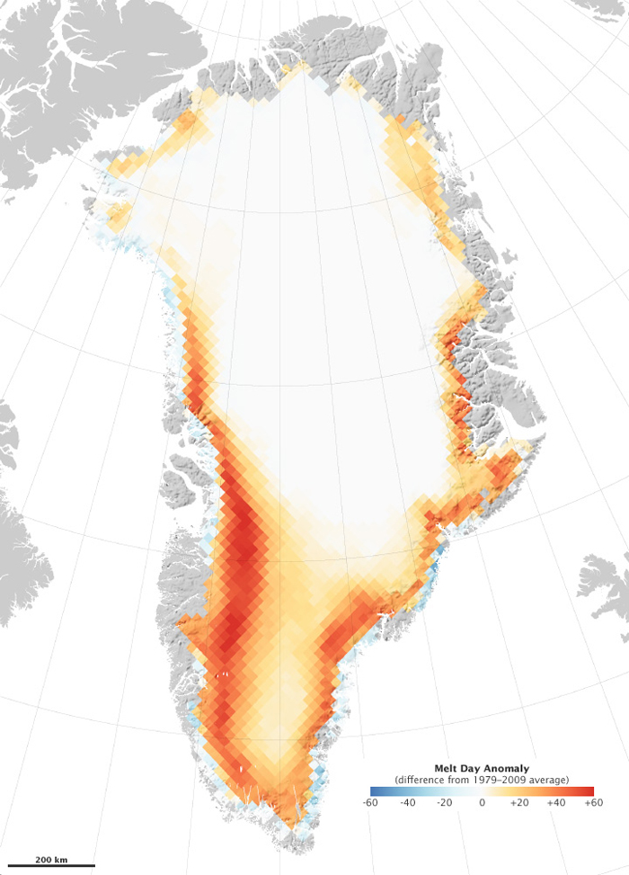 Greenland-Melting