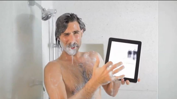 Jason Schwartzman New Yorker iPad app commercial