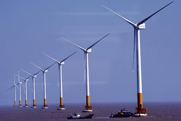 Shanghai wind farm