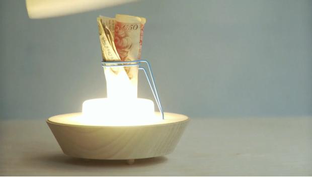 Yiting Cheng Stash Lamp