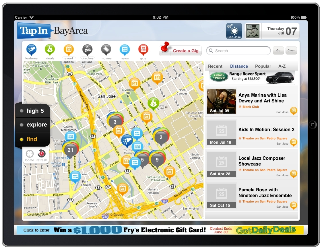 TapIn Bets Google Maps Can Save Local News - Google map user location