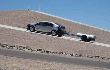 Chevy Volt grade load test
