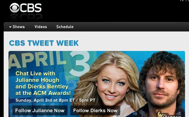 CBS Tweet Week