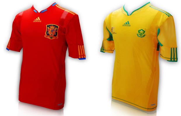 World Cup jerseys