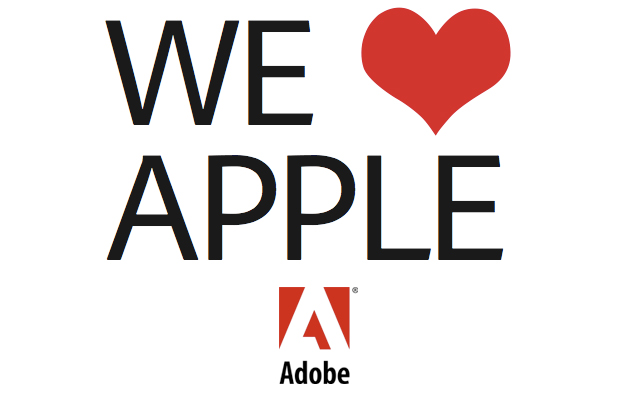 apple and adobe relationship