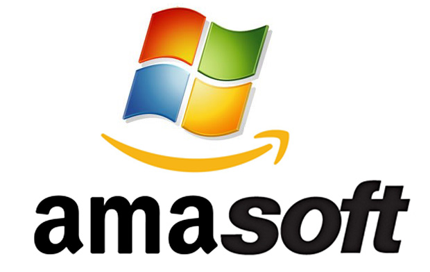Amazon and Microsoft