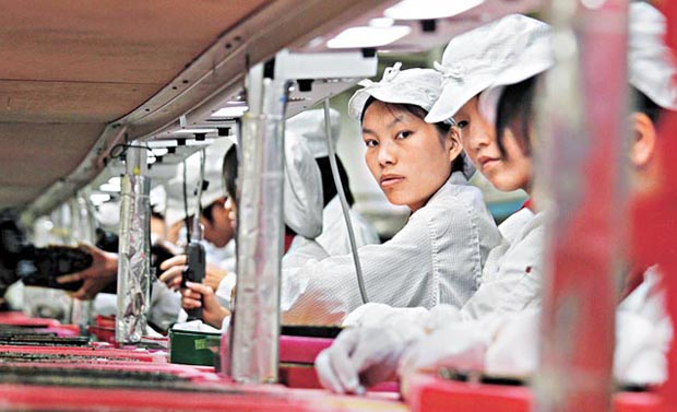 treating foxconn workers as machines Riots, suicides, and other issues in foxconn's iphone factories we insist that all of our suppliers provide safe working conditions, treat workers with dignity and respect.