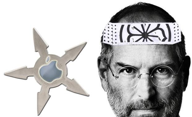 Steve Jobs ninja