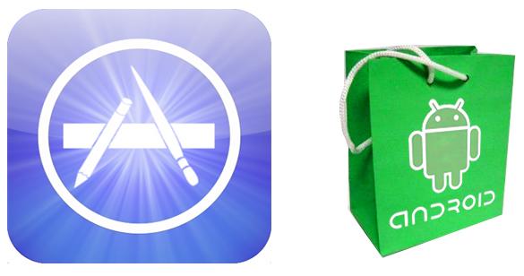Apple App market icons