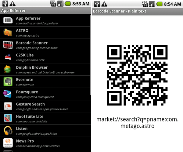 qr reader for android phones