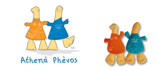 Athens Olympic mascots