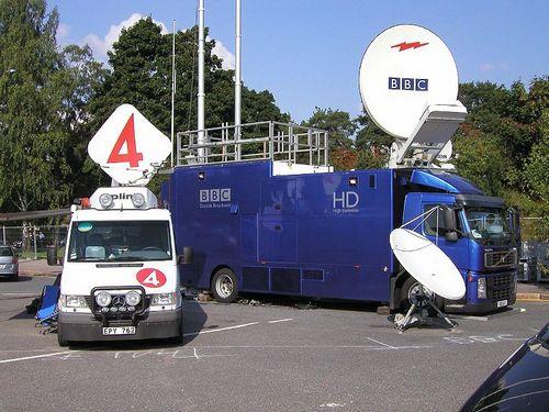 BBC truck