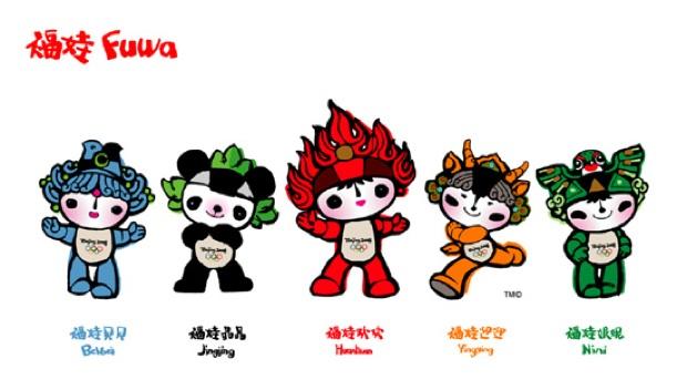 Beijing Olympics mascots