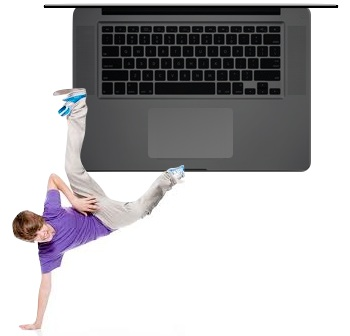 Bieber black MacBook